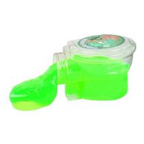 toilet met neonkleurige putty 9,5 cm junior groen