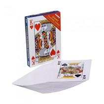 Speelkaarten extra groot 12 x 17 cm