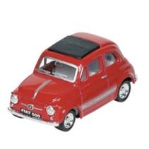Metalen Fiat 500: Rood
