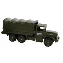 militaire vrachtwagen diecast 7 cm legergroen