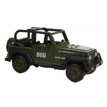 militaire jeep diecast 7 cm legergroen