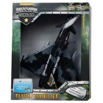 straaljager met licht junior 27 cm zwart