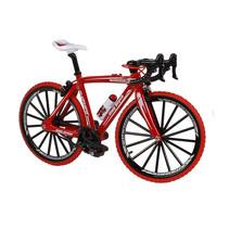 speelset miniatuur racefiets 17 cm rood