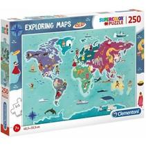 legpuzzel Exploring Maps: Cultuur 250 stukjes