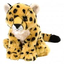 knuffel jachtluipaard 20 cm pluche geel/zwart