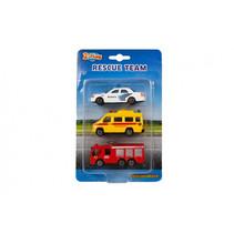 auto's Rescue Team 8 cm junior diecast 3-delig