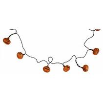 lichtsnoer Halloween pompoen LED kunststof oranje