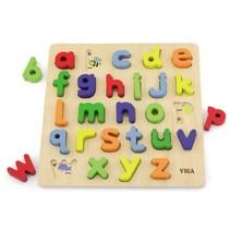 houten leerpuzzel alfabet 30 cm