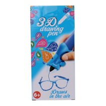 3D-tekenpen blauw 14 x 5,5 x 3,5 cm