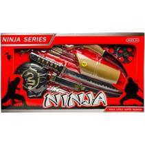 ninjaset XL 10-delig zwart/goud