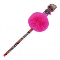 pen met pompom L.O.L. Surprise roze