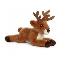 knuffel Mini Flopsie hert bruin 20,5 cm