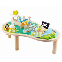 muziektafel Magic Island 56 cm hout 16-delig