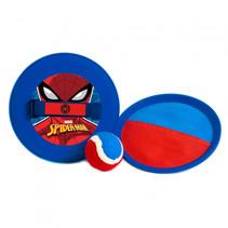 vangspel Spiderman junior 19 cm blauw/rood 3-delig