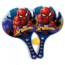 beachbalset Spiderman jongens 36,5 cm blauw 3-delig