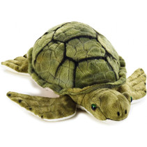 knuffel schildpad 32 cm pluche groen