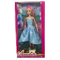 tienerpop Annabelle meisjes 30 cm blauw