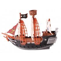 piratenschip met accessoires 3-delig