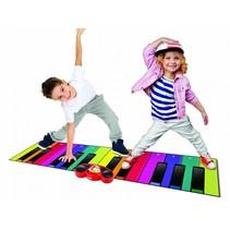 speelmat piano XXL 180 cm multicolor