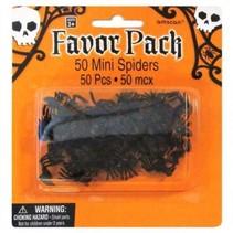 mini-spinnen Halloween 50 stuks