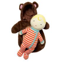 babypop Snuggle Bear meisjes 38 cm 2-delig