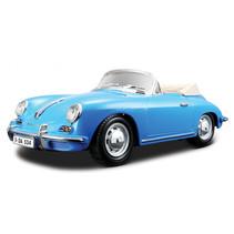 sportauto Porsche Cabrio 1:18 blauw