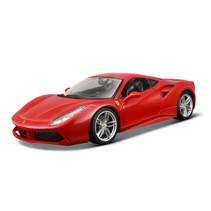 schaalmodel Ferrari 488 GTB 1:18 rood