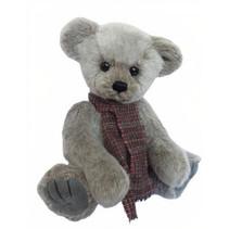 knuffelbeer Teddy Yuno junior 35 cm pluche zilvergrijs