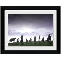 poster in lijst Lord of the Rings Fellowship 30 x 40 cm