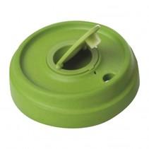 hersluitbare deksel  BambooCUP groen