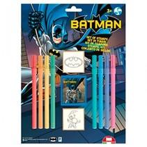 kleurset Batman 11-delig blauw