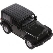 schaalmodel Jeep Wrangler Rubicon 1:34 groen 11 cm