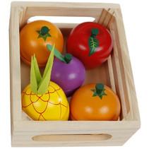 krat fruit snijden hout 11-delig