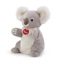 knuffel Puppet koala 28 cm grijs