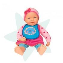 interactieve babypop 48 cm multicolor