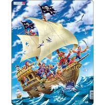 legpuzzel Maxi Piratenschip 30 stukjes