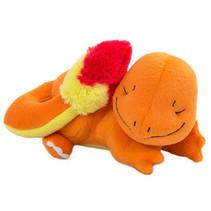 knuffel slapende Charmander junior 16 cm oranje