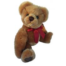 knuffelbeer Teddy Dennis junior 33 cm pluche bruin