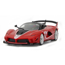 bouwpakket RC auto Ferrari FXX EVO 27,2 cm rood 2-delig