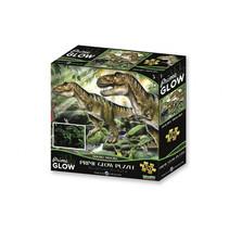 3D-puzzel Dino Wereld Glow karton 100 stuks