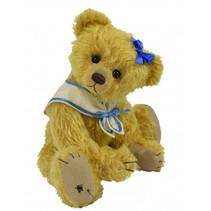 knuffelbeer Teddy Merle junior 29 cm pluche lichtbruin
