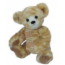 knuffelbeer Teddy Luana junior 35 cm pluche wit/lichtbruin