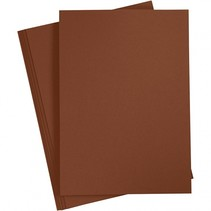 karton bruin A4 180 gram 20 vellen