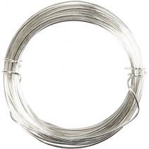 metaaldraad 0,4 mm 20 meter zilver