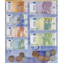 speelgoedgeld Euro papier/kunststof junior