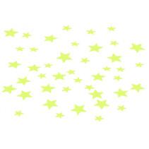 glow in the dark sterren 200 stuks
