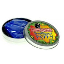intelligent putty dinosaurus junior 8,5 cm blauw