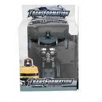transformers auto/robot 14 cm zilver