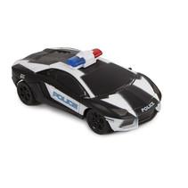 politieauto met afstandsbediening USA 15,5 cm zwart