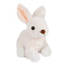 knuffel konijn junior 15 cm pluche wit